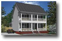 House Plans by Southern Heritage Home Designs   Two Story House    House Plan  C Allendale B  Square Feet