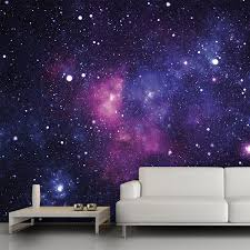 Star Bedroom Decor Galaxy Wall Mural 13x9 54 Trying To Think Of Cool Wall Decor