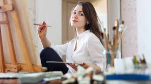 best part time jobs for high school students young artist girl painting