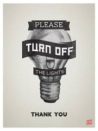 Image result for turn off the light