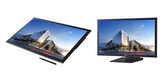 <b>Сенсорный монитор</b> Sharp PN-K322B формата Ultra <b>HD</b> на ...