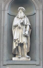 leonardo da vinci مـصـر الـمـدنـيـة da vinci 50 a statue of leonardo outside the uffizi gallery in florence based upon