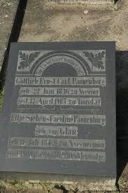 Grab von Gottlieb Ernst Carl Pannenborg (22.06.1836-12.04.1907 ... - wn033