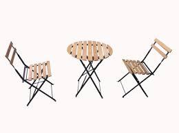 <b>Комплект мебели столик</b> + 2 стула. polywood