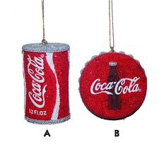 Image result for blingy coca cola tree ornaments