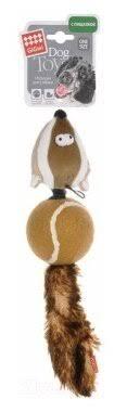 <b>Игрушка</b> для собак <b>GiGwi Dog Toys</b> Барсук (75075) — купить по ...