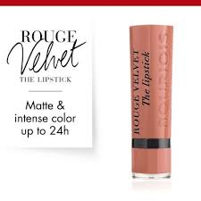 Rouge Velvet The <b>Lipstick</b> 01 Hey Nude ! | Bourjois