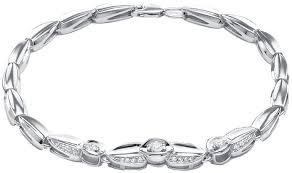 <b>Браслет</b> цепь из белого золота <b>Vesna jewelry 5815-251-00-00</b> с ...