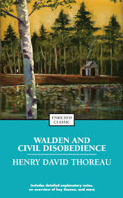 walden and civil disobedience book by henry david thoreau book cover image jpg walden and civil disobedience