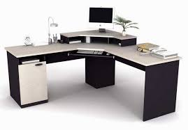 amazing office awesome shaped office desk