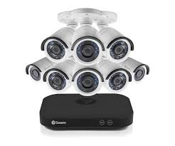 Swann <b>8 Channel</b> Security System: 5MP Super <b>HD</b> DVR with 2TB ...