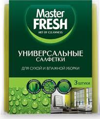 <b>Универсальные салфетки Master</b> FRESH для уборки (вискоза ...