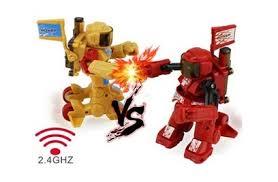 <b>Радиоуправляемый робот</b>-боксёр <b>WL</b> Toys Fighting <b>Robot</b> 2.4G ...