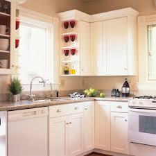 kitchen decoration white laminate cream