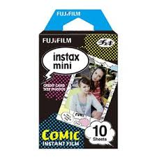 <b>Fujifilm Instax</b> Mini Comic Instant <b>Color Film</b> for <b>Instax</b> Mini Cameras ...