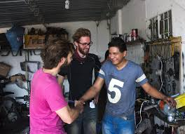 three friends quit their jobs to ride south america on dirt bikes we spent three days in the heat of santa cruz throwing back pisco sours and waiting for the rebuilds to finish finally cylinders honed piston rings and