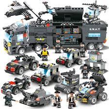 Lego City Police Series <b>8 In 1 City</b> Police Building Blocks | Shopee ...