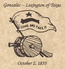 「Battle of Gonzales」の画像検索結果