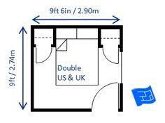 master bedroom measurements minimum bedroom size for a double bed us and uk storage is provided