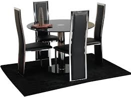 Black Leather Dining Room Chairs Indian Sheesham Wood Dining Table And 6 Chairs Cheerful Living