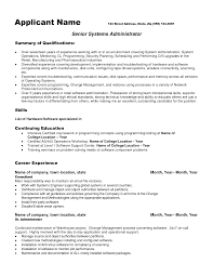 Sample System Administrator Resumes Health Care Administration ... administrator cv ...