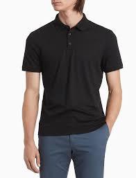Regular Fit <b>Liquid</b> Touch Solid Polo Shirt | <b>Calvin Klein</b>
