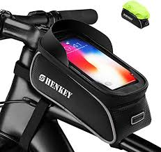 SHENKEY <b>Bike</b> Frame Bag, <b>Bike</b> Bag Waterproof <b>Touch Screen</b> ...
