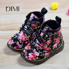 <b>2018 New Spring</b>/<b>Autumn Children</b> Rubber Boots Leather Flower ...