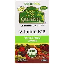 Nature's Plus Vitamin B12 <b>Source Of Life Garden</b>