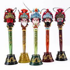 Chinese Opera Face Pen Chinese style <b>Beijing Opera</b> character <b>gel</b> ...