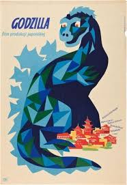 <b>Godzilla</b> | Polish <b>movie posters</b>, Film posters, Polish films
