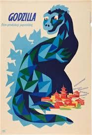 <b>Godzilla</b> | Polish <b>movie posters</b>, Film posters, Polish films