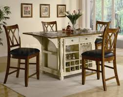 4 chair kitchen table: kitchen island table with  chairs