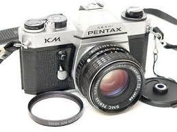 <b>Original Japan</b> PENTAX KM Metal Body Camera w <b>SMC</b> 55mm f1.8 ...