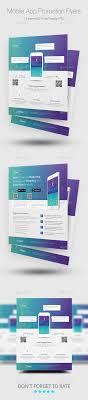 mobile app promotion flyer templates promotion flyers and web mobile app promotion flyer templates