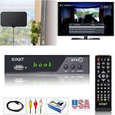 Decodificador Sintonizador <b>Atsc Ota</b> caja conversor de Antena <b>TV</b> ...