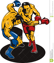 Image result for COMIC BOOK PIC of a boxing knockout