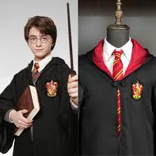 Harri <b>Potter Cosplay Costume Robe Cloak Ravenclaw Gryffindor</b> ...
