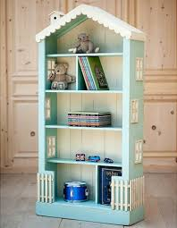 soft blue alices tall dollhouse bookcase collections bookcase dolls house emporium
