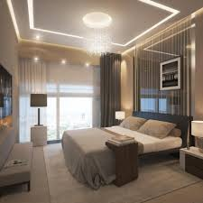 funky bedroom lighting stylish ceiling lighting plus wooden tray tv table design feat modern bay window bed lighting home