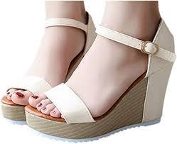 Gyouanime Women High Heel Wege Platform ... - Amazon.com