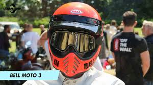 The NEW Bell <b>Moto</b> 3 <b>motorcycle helmet</b> review by URBAN RIDER ...