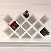 <b>Wine rack for 25</b> bottles in oak color – заказать на Ярмарке ...
