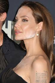 Angelina Jolie's make-up mistake has become a major talking point today. When we first saw the visible white powder on her face, we were actually relieved ... - angelina-jolie-makeup-mistake-