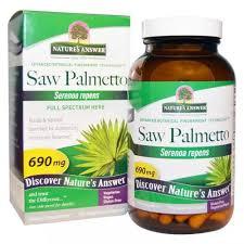 Nature's Answer <b>Saw Palmetto</b>