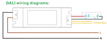 dali dimming wiring diagram dali image wiring diagram 150w dali dimmable led driver bilisty technology limited on dali dimming wiring diagram