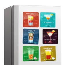 <b>Набор магнитов Melompo cocktail</b> 6 шт. — купить по цене 935 руб ...