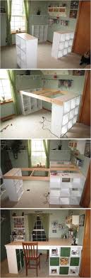 creative ideas diy customized craft desk i am always a fan of l ben office fan