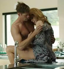 Nicole Kidman continues to show her raunchy side as she strips off.