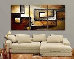 Zartsy 100% Hand Painted Abstract Landscape ... - Amazon.com